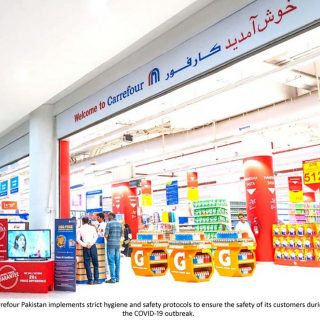 Carrefour Pakistan Reassures Customers with Additional Hygiene Measures