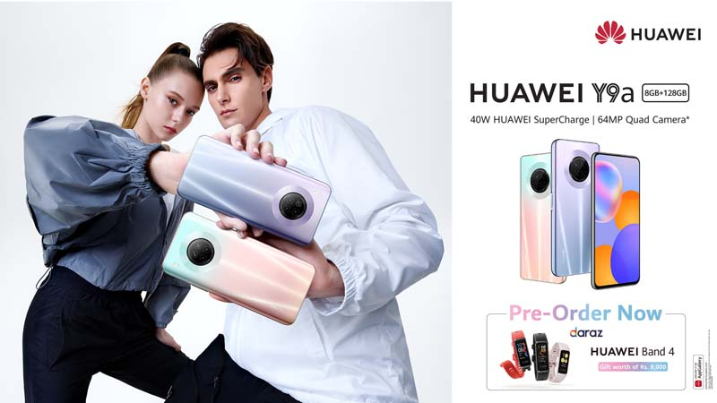 An Unmatched Design and Blazing Performance - Midrange King HUAWEI Y9a Opens for Pre-orders in Pakistan (2)