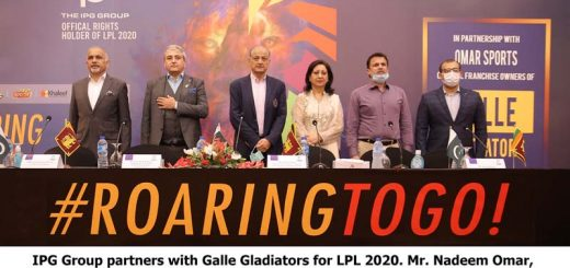 IPG Group Partners With Galle Gladiators for LPL 2020