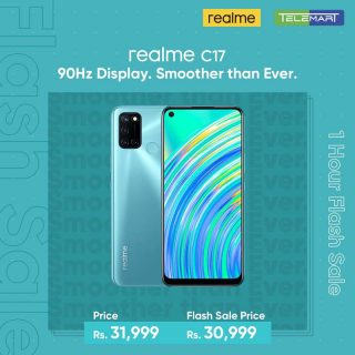 realme launched the most Tech Trendsetting model of C series line-up realme C17