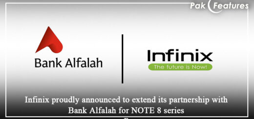 Infinix extends its partnership with Bank Alfalah for NOTE 8 series
