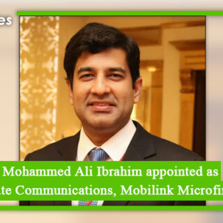 Mohammed Ali Ibrahim appointed as VP Corporate Communications, Mobilink Microfinance Bank