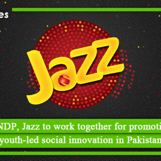 UNDP, Jazz to work together for promoting social innovation in Pakistan