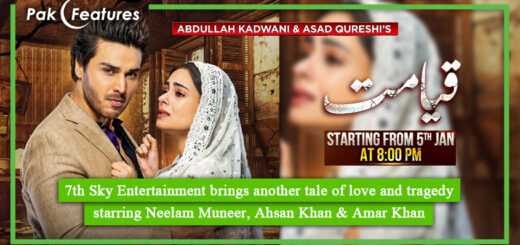 7th Sky Entertainment brings another tale of love and tragedy 'Qayamat'