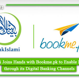 BankIslami Joins Hands with Bookme.pk to Enable E-ticketing