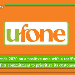 Ufone ends 2020 on a positive note with a reaffirmation of its commitment to prioritize its customers