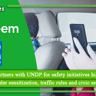 Careem partners with UNDP for safety initiatives highlighting gender sensitization, traffic rules and civic sense