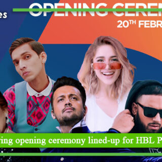 Glittering opening ceremony lined up for HBL PSL 6