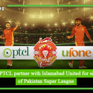 Ufone and PTCL partner with Islamabad United for sixth season of Pakistan Super League