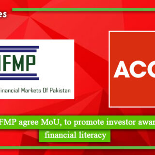ACCA, IFMP agree MoU, to promote investor awareness & financial literacy