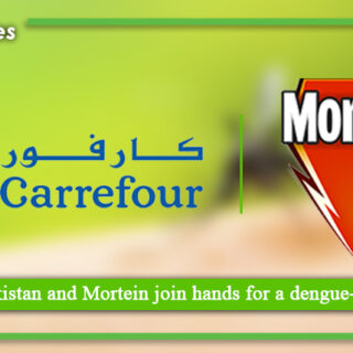 Carrefour Pakistan and Mortein join hands for a dengue free Pakistan
