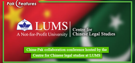 China Pak collaboration conference hosted by the Centre for Chinese legal studies at LUMS
