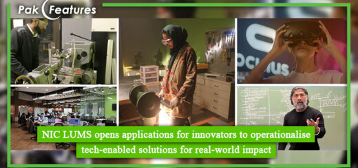 NIC LUMS opens applications for innovators to operationalize tech enabled solutions for real world impact