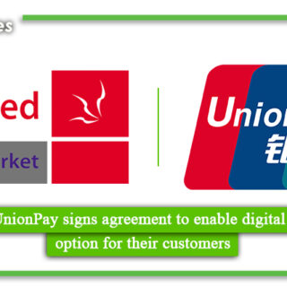 Naheed, UnionPay signs agreement to enable digital payments option for their customers