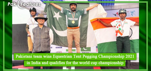 Pakistani team wins Equestrian Tent Pegging Championship 2021 in India and qualifies for the world cup championship