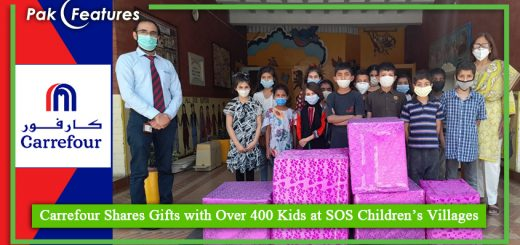 Carrefour Shares Gifts with Over 400 Kids at SOS Children's Villages