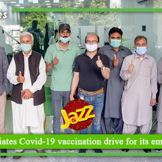 Jazz initiates Covid 19 vaccination drive for its employees