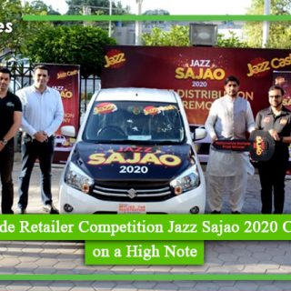 Nationwide Retailer Competition Jazz Sajao 2020 Concludes on a High Note