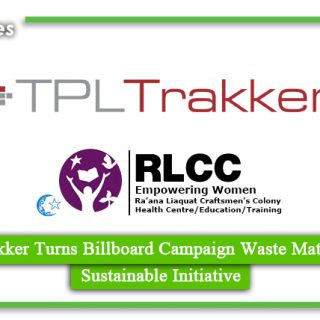 TPL Trakker Turns Billboard Campaign Waste Material into Sustainable Initiative