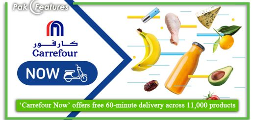 'Carrefour Now' offers free 60 minute delivery across 11,000 products