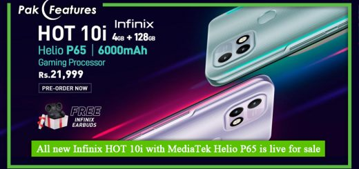 All new Infinix HOT 10i with MediaTek Helio P65 is live for sale