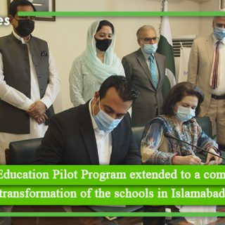 Google for Education Pilot Program extended to a complete digital transformation of the schools in Islamabad