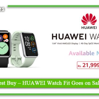 HUAWEI Watch Fit Goes on Sale Nationwide