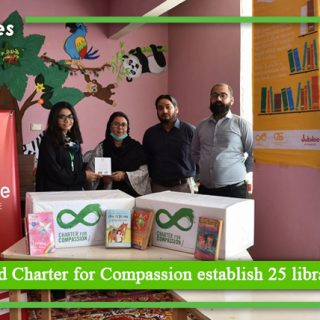 Jubilee Life and Charter for Compassion establish 25 libraries in Karachi