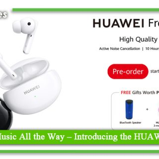 Last All Day, Music All the Way,Introducing the HUAWEI FreeBuds 4i