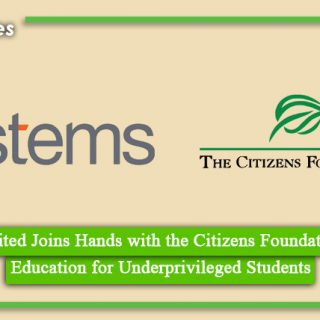 Systems Limited Joins Hands with the Citizens Foundation to Enable Education for Underprivileged Students