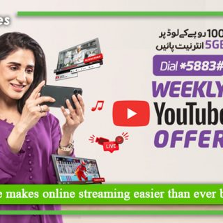 Ufone makes online streaming easier than ever before