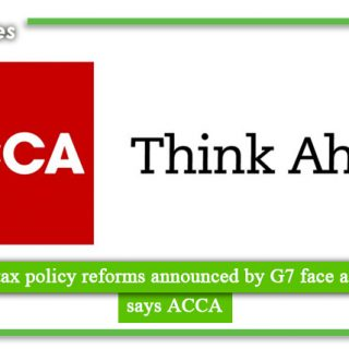 'Seismic' tax policy reforms announced by G7 face aftershocks, says ACCA