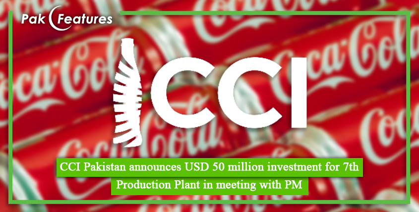 CCI Pakistan announces USD 50 million investment for 7th Production Plant in meeting with PM