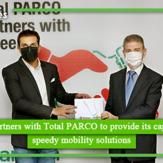 Careem partners with Total PARCO to provide its captains with speedy mobility solutions