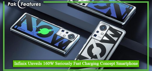 Infinix Unveils 160W Seriously Fast Charging Concept Smartphone