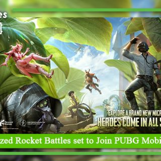 Insect Sized Rocket Battles set to Join PUBG Mobile Today