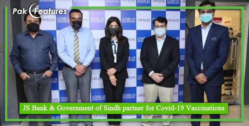 JS Bank & Government of Sindh partner for Covid 19 Vaccinations