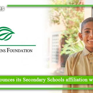 The Citizens Foundation announces its Secondary Schools affiliation with Federal Board of Intermediate & Secondary Education