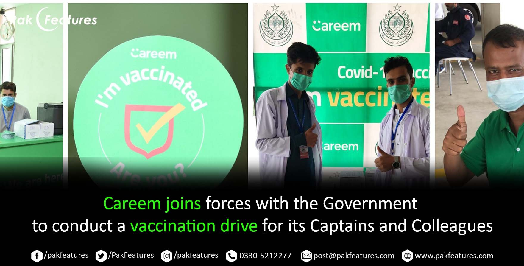 Careem joins forces with the Government to conduct a vaccination drive for its Captains and Colleagues